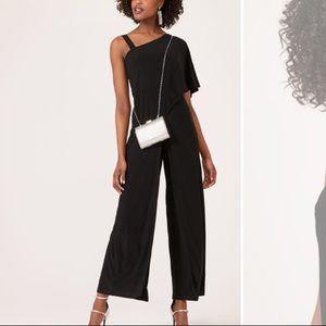 Black sparkly jumpsuit